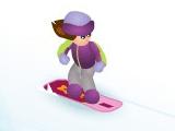 Snowboard Betty